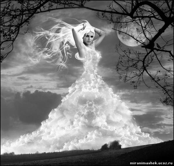 Анимация Небо, облака, анимационные картинки Небо, облака